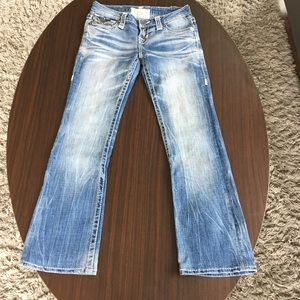 Light wash Big Star jeans from the Buckle